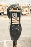 Автопарковочный счетчик стоковая фотография rf