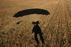 автопортрет посадки поля Стоковые Изображения RF