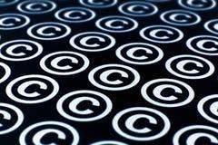 авторское право стоковая фотография