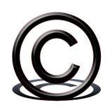 авторское право Стоковое Изображение