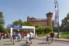 Автосалон Турина - третье издание 2017 стоковые изображения