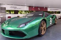 Автосалон Турина - третье издание 2017 стоковое изображение rf