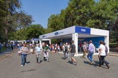 Автосалон Турина - третье издание 2017 стоковые изображения rf