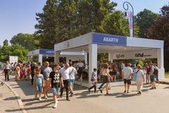 Автосалон Турина - третье издание 2017 стоковое фото