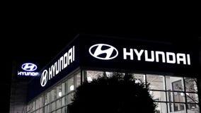 Автосалон Hyundai акции видеоматериалы