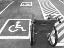 Автостоянка инвалидности Стоковое Изображение