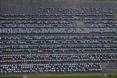 автостоянка Стоковые Фотографии RF