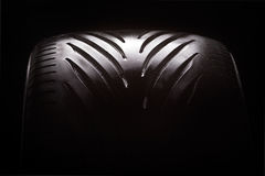 автошина автомобиля Стоковая Фотография