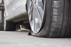 Автошина взрыва Стоковая Фотография RF