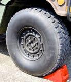 Автошина военного транспортного средства Стоковые Изображения RF
