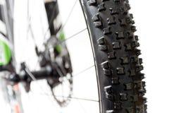 автошина горы крупного плана bike Стоковая Фотография RF