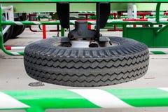Автошина запасного колеса тележки Стоковое Изображение