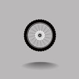 Автошина и колесо Стоковое Фото