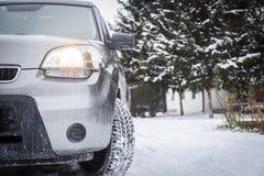 Автошины зимы Стоковые Фото