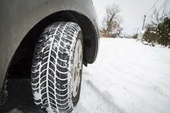 Автошины зимы Стоковая Фотография RF