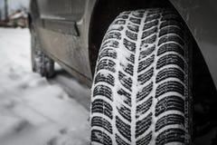 Автошины зимы Стоковые Изображения RF