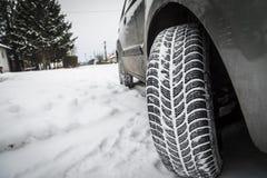 Автошины зимы Стоковые Изображения