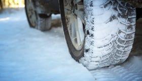 Автошины зимы Стоковое Изображение RF