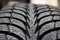 Автошины на колесах для автомобиля Стоковые Изображения RF