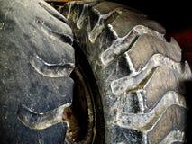Автошины трактора Стоковое Фото