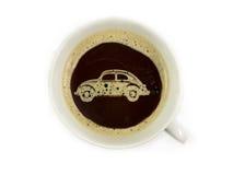 Автодилер предлагает кофе Стоковые Изображения