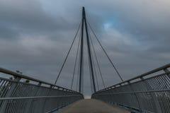 Автодорожный мост в Beetson Лидсе, Великобритании стоковая фотография rf