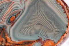 Агат Lake Superior - макрос Стоковые Изображения RF