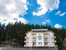 Агенство банка CEC в Busteni, Румынии Стоковая Фотография