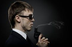 агент Специальн-обслуживания стоковые фотографии rf