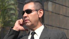 Агент ФБР или сотрудник охраны Стоковые Изображения
