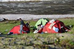 лагерь Стоковое Фото