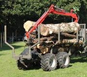 Аграрная вагонетка Стоковое Изображение RF