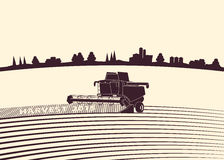 Аграрная предпосылка Стоковое фото RF