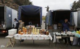 Аграрная ярмарка в Саратове стоковое фото