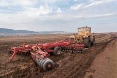 Аграрное машинное оборудование Стоковая Фотография