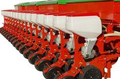 Аграрное оборудование для земли удобрения Стоковое Изображение RF