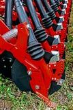 аграрное оборудование Деталь 174 Стоковые Фотографии RF