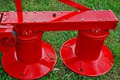 аграрное оборудование Деталь 135 Стоковые Изображения RF