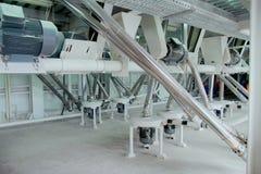 Аграрное промышленное электротехническое оборудование Мельница зерна Стоковая Фотография RF