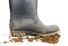 аграрные ботинки стоковая фотография
