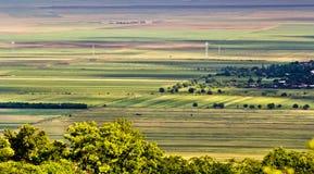 аграрные края стоковая фотография rf