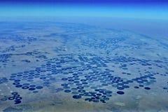 аграрные поля Стоковое Изображение RF