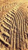Аграрные следы Стоковые Фотографии RF