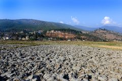 Аграрный ландшафт Бутана Стоковые Изображения