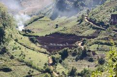 аграрный ландшафт Стоковые Фотографии RF
