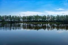 Аграрный взгляд в развивающаяся страна Стоковые Фотографии RF