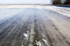 аграрный льдед поля Стоковое Изображение