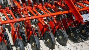 Аграрный рыхлитель для обрабатывать земли Борона, агро стоковое изображение