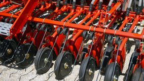 Аграрный рыхлитель для обрабатывать земли Борона, агро стоковые изображения rf