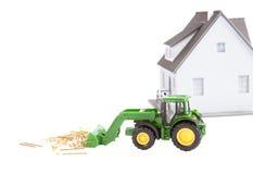 аграрный трактор Стоковая Фотография RF